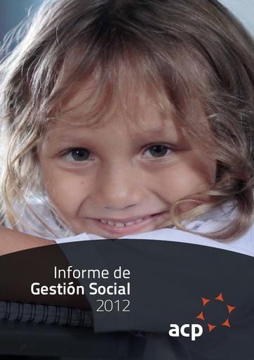 Informe de Gestión Social ACP 2012
