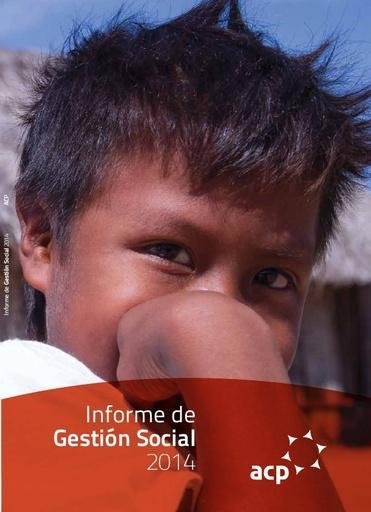 Informe de Gestión Social ACP 2014