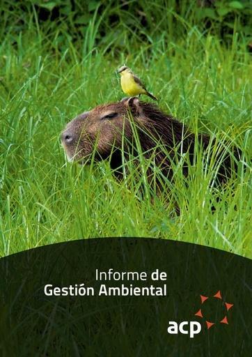 Informe de Gestión Ambiental ACP 2013