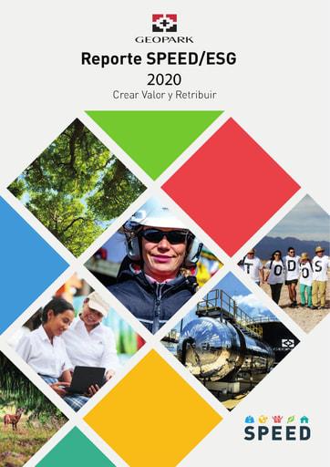 informe de sostenibilidad 2020 GeoPark
