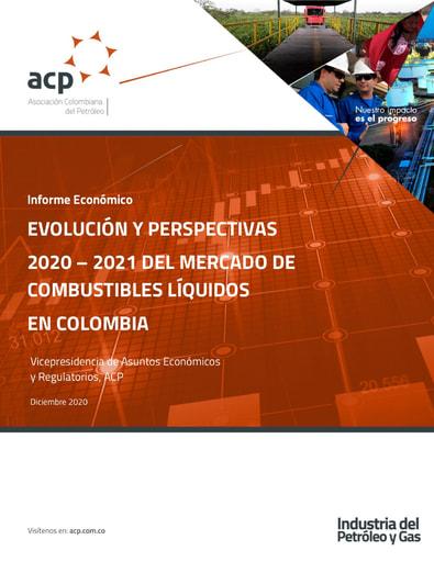 Informe económico evolución y perspectivas 2020 - 2021 del mercado de combustibles líquidos en Colombia
