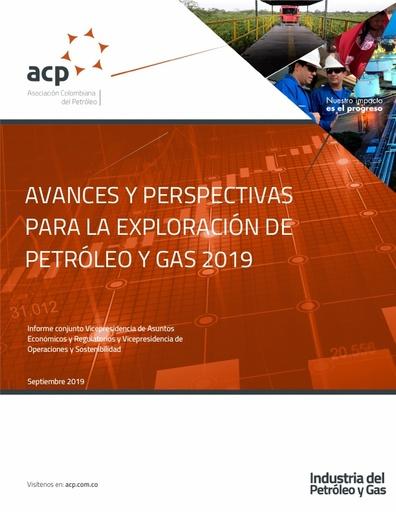 Informe económico Avance y perspectivas para la exploración de petróleo y gas 2019