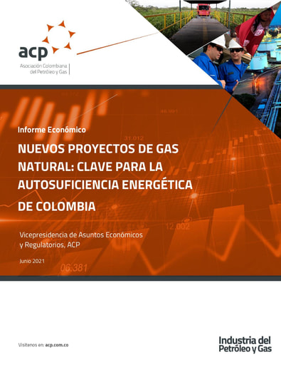 Informe económico Nuevos proyectos de gas natural: clave para la autosuficiencia energética de Colombia