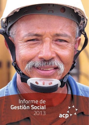 Informe de Gestión Social ACP 2013