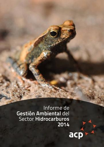 Informe de Gestión Ambiental ACP 2014