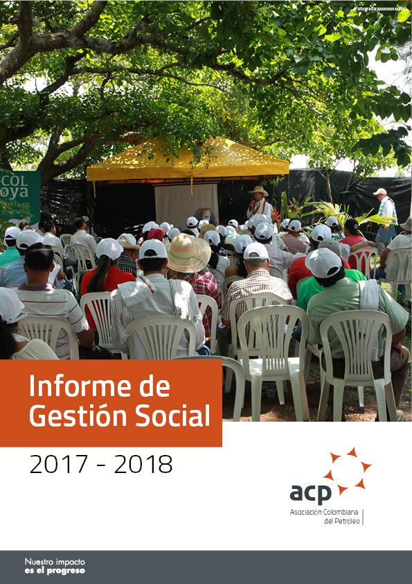 Informe de Gestión Social ACP 2017 - 2018